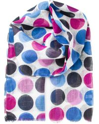 Kiton | Multicolor Dotted Scarf for Men | Lyst