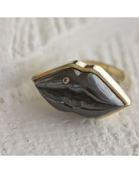 Kelly Wearstler | Metallic Bayliss Ring | Lyst