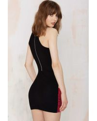 Nasty Gal - Di$Count Tra$H Hands Off Sequin Dress - Pink - Lyst
