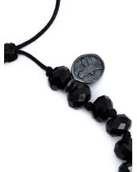 Joseph Brooks - Black Spinel Beaded Bracelet for Men - Lyst