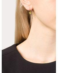 Marie-hélène De Taillac   Green 22kt Gold Peridot Mismatch Earrings   Lyst