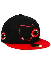KTZ - Cincinnati Reds Mlb States 59fifty Cap for Men - Lyst