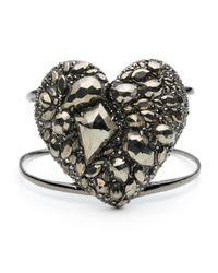 Alexis Bittar - Metallic Pyrite Pave Heart Cuff - Lyst