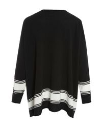 Eskandar | Black Raw Edge Cashmere Knit Jumper | Lyst