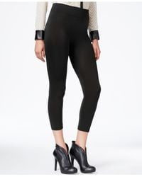 Hue | Black Fleece Lined Leggings | Lyst