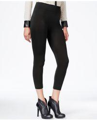 Hue - Black Fleece Lined Leggings - Lyst