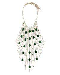 Rosantica By Michela Panero | Metallic Santa Barbara Fringe Necklace | Lyst