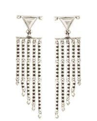 House of Harlow 1960 - Metallic Tres Tri Fringe Earrings - Lyst