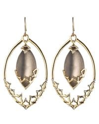 Alexis Bittar | Brown Imperial Georgian Lace Orbiting Earring | Lyst