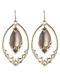 Alexis Bittar | Metallic Imperial Georgian Lace Orbiting Earring | Lyst
