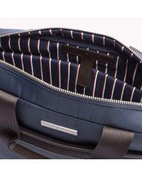 Tommy Hilfiger - Blue Olivier Briefcase for Men - Lyst