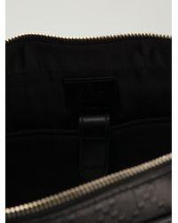 Gucci - Black 'Bright Diamante' Laptop Bag for Men - Lyst