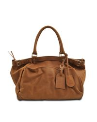 Vanessa Bruno - Brown Lune Shoulder Bag - Lyst