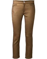Roseanna | Metallic Textured Trousers | Lyst