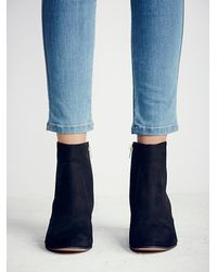 Free People | Black Warren Ankle Boot | Lyst