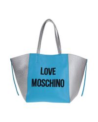Moschino - Blue Handbag - Lyst