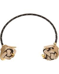 Marni | Black Horn Choker Necklace - For Women | Lyst