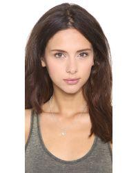 Helen Ficalora | Metallic Angel Wing Charm - Silver | Lyst