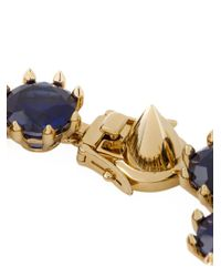 Eddie Borgo - Blue Crystal Bracelet - Lyst
