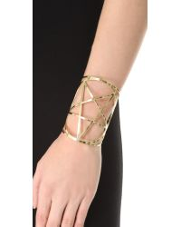 Pamela Love | Metallic Brass Mini Pentagram Cuff | Lyst