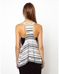 Cheap Monday | Pink Striped Vest | Lyst