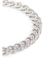 Philippe Audibert | Metallic Gourmette Chain Necklace | Lyst