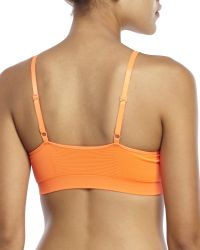 New Balance - Orange T-Shirt Bra - Lyst