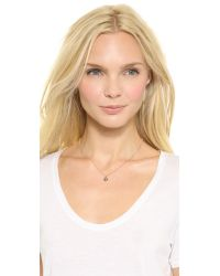 Katie Rowland - Pink Java Mini Pendant Necklace Rose Gold Multi - Lyst