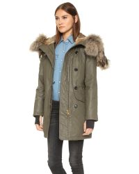 Sam. | Green Double Downtown Parka | Lyst