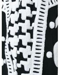 KTZ - Black Towelling Harem Shorts for Men - Lyst