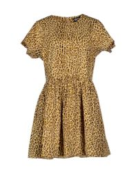 Opening Ceremony | Natural Short Dress | Lyst