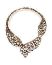 Erickson Beamon | Metallic 'hello Sweetie' Crystal Choker | Lyst
