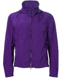 C P Company | Purple Goggle Hood Jacket for Men | Lyst