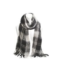 Marc By Marc Jacobs | Gray Blanket Plaid Scarf | Lyst