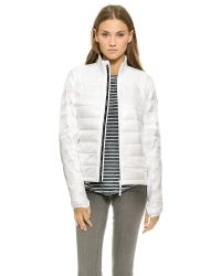 a14346a1446a Lyst - Canada Goose Hybridge Lite Jacket in White