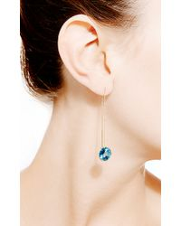 Janis Savitt | Thread London Blue Topaz Earrings | Lyst