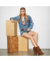 Denim & Supply Ralph Lauren - Blue Tolme Boyfriend Cutoff Short - Lyst