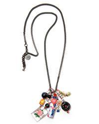 Venessa Arizaga - Black Cheers Necklace - Lyst