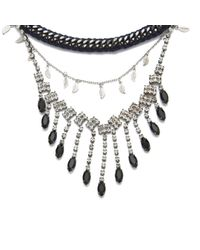 Venessa Arizaga | Black Women's Let It Rain Necklace | Lyst