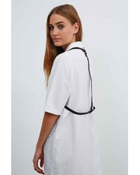 Urban Outfitters - Leather Harness In Black - Lyst