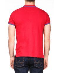 Wrangler - Red Polo Shirt for Men - Lyst