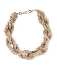 Atelier Swarovski - Metallic Necklace - Lyst