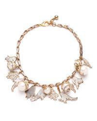 Lulu Frost | Metallic 'delirium' Charm Necklace | Lyst