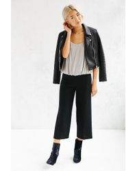 Silence + Noise - Gray Night Out Bubble Top - Lyst
