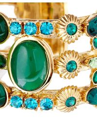 Vickisarge - Blue Green Adele Cuff - Lyst