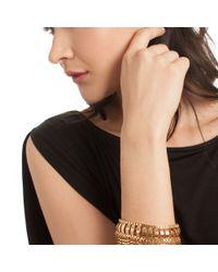 Trina Turk - Metallic Fringe Flex Bracelet - Lyst