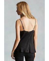 True Religion | Black Silk Womens Cami | Lyst