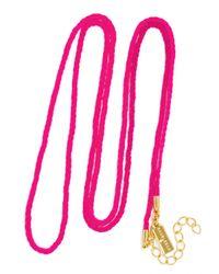 BaubleBar | Pink Fluoro Charm Chain | Lyst