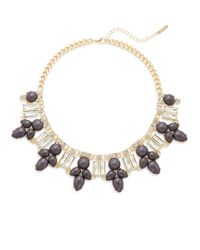 Saks Fifth Avenue | Metallic Faux Pearl-accent Fan Necklace | Lyst