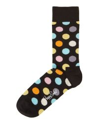 Happy Socks | Multicolor Big Dot Socks for Men | Lyst